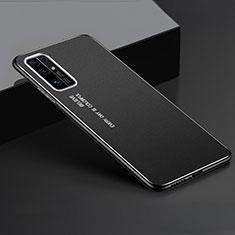 Coque Luxe Aluminum Metal Housse Etui pour Huawei Honor 30 Noir