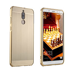 Coque Luxe Aluminum Metal Housse Etui pour Huawei Nova 2i Or