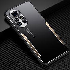 Coque Luxe Aluminum Metal Housse Etui pour Huawei Nova 8 5G Or