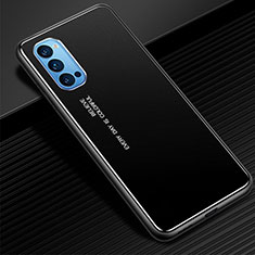 Coque Luxe Aluminum Metal Housse Etui pour Oppo Reno4 Pro 5G Noir
