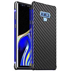 Coque Luxe Aluminum Metal Housse Etui pour Samsung Galaxy Note 9 Bleu