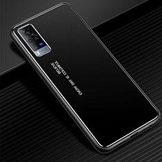 Coque Luxe Aluminum Metal Housse Etui pour Vivo X60 Pro 5G Noir