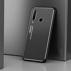 Coque Luxe Aluminum Metal Housse Etui T01 pour Huawei Honor 20 Lite Noir