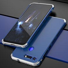 Coque Luxe Aluminum Metal Housse Etui T03 pour Huawei Honor View 20 Bleu