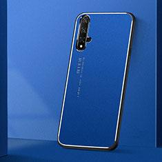 Coque Luxe Aluminum Metal Housse Etui T04 pour Huawei Nova 5T Bleu