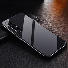 Coque Luxe Aluminum Metal Housse Etui T04 pour Oppo Find X2 Neo Noir