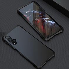 Coque Luxe Aluminum Metal Housse Etui T05 pour Huawei Nova 5T Noir