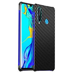 Coque Luxe Aluminum Metal Housse Etui T06 pour Huawei P30 Lite New Edition Bleu