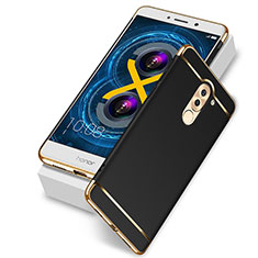Coque Luxe Aluminum Metal pour Huawei Honor 6X Pro Noir