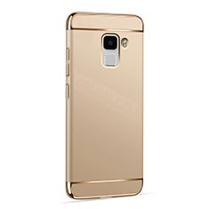 Coque Luxe Aluminum Metal pour Huawei Honor 7 Or