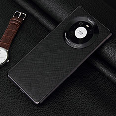 Coque Luxe Cuir Housse Etui K06 pour Huawei Mate 40 Pro Noir