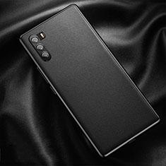 Coque Luxe Cuir Housse Etui pour Huawei Mate 40 Lite 5G Noir