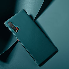 Coque Luxe Cuir Housse Etui pour Huawei Nova 6 5G Bleu