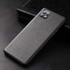 Coque Luxe Cuir Housse Etui pour Oppo Reno4 SE 5G Noir