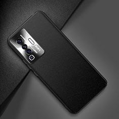 Coque Luxe Cuir Housse Etui pour Vivo X50 5G Noir