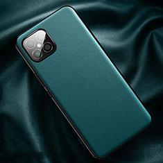 Coque Luxe Cuir Housse Etui R01 pour Huawei Nova 8 SE 5G Cyan