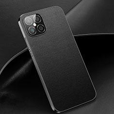 Coque Luxe Cuir Housse Etui R02 pour Huawei Nova 8 SE 5G Noir