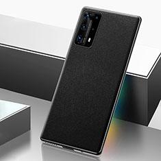 Coque Luxe Cuir Housse Etui R04 pour Huawei P40 Pro+ Plus Noir