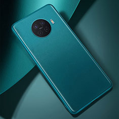 Coque Luxe Cuir Housse Etui S01 pour Oppo Ace2 Cyan