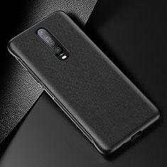 Coque Luxe Cuir Housse Etui S06 pour Xiaomi Poco X2 Noir