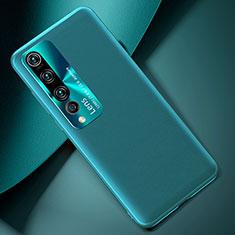 Coque Luxe Cuir Housse Etui T01 pour Xiaomi Mi 10 Vert