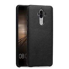 Coque Luxe Cuir Housse L03 pour Huawei Mate 9 Noir