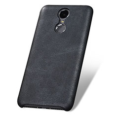 Coque Luxe Cuir Housse pour Huawei Enjoy 6 Noir