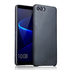 Coque Luxe Cuir Housse pour Huawei Honor V10 Bleu