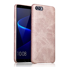 Coque Luxe Cuir Housse pour Huawei Honor V10 Or