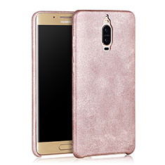 Coque Luxe Cuir Housse pour Huawei Mate 9 Pro Or