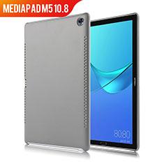 Coque Luxe Cuir Housse pour Huawei MediaPad M5 10.8 Gris