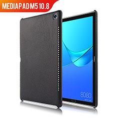 Coque Luxe Cuir Housse pour Huawei MediaPad M5 10.8 Noir