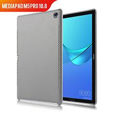 Coque Luxe Cuir Housse pour Huawei MediaPad M5 Pro 10.8 Gris