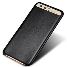 Coque Luxe Cuir Housse pour Huawei P10 Plus Noir