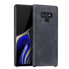 Coque Luxe Cuir Housse pour Samsung Galaxy Note 9 Noir