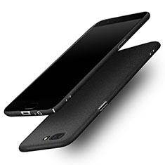 Coque Plastique Etui Rigide Sables Mouvants pour OnePlus 5 Noir