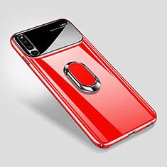 Coque Plastique Housse Etui Rigide Mat avec Support Bague Anneau Aimante Magnetique A01 pour Huawei Honor Magic 2 Rouge