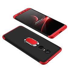 Coque Plastique Mat Protection Integrale 360 Degres Avant et Arriere Etui Housse avec Support Bague Anneau pour Xiaomi Redmi Note 5 Indian Version Mixte