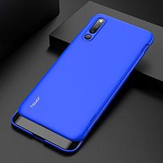Coque Plastique Mat Protection Integrale 360 Degres Avant et Arriere Etui Housse M01 pour Huawei Honor Magic 2 Bleu