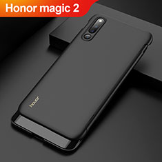 Coque Plastique Mat Protection Integrale 360 Degres Avant et Arriere Etui Housse M01 pour Huawei Honor Magic 2 Noir