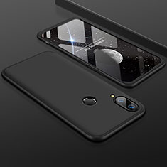 Coque Plastique Mat Protection Integrale 360 Degres Avant et Arriere Etui Housse pour Huawei Enjoy 9 Plus Noir
