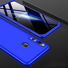 Coque Plastique Mat Protection Integrale 360 Degres Avant et Arriere Etui Housse pour Huawei Honor 20 Lite Bleu