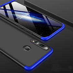 Coque Plastique Mat Protection Integrale 360 Degres Avant et Arriere Etui Housse pour Huawei Honor 20 Lite Bleu et Noir