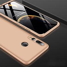 Coque Plastique Mat Protection Integrale 360 Degres Avant et Arriere Etui Housse pour Huawei Honor 20 Lite Or