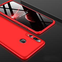 Coque Plastique Mat Protection Integrale 360 Degres Avant et Arriere Etui Housse pour Huawei Honor 20 Lite Rouge