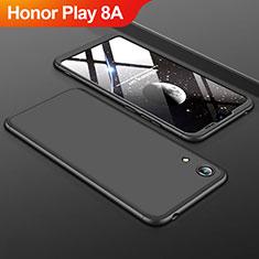 Coque Plastique Mat Protection Integrale 360 Degres Avant et Arriere Etui Housse pour Huawei Honor Play 8A Noir