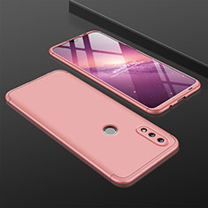 Coque Plastique Mat Protection Integrale 360 Degres Avant et Arriere Etui Housse pour Huawei Nova Lite 3 Or Rose