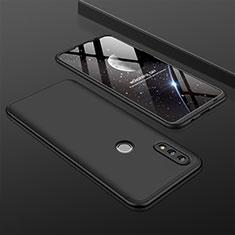 Coque Plastique Mat Protection Integrale 360 Degres Avant et Arriere Etui Housse pour Huawei P Smart (2019) Noir