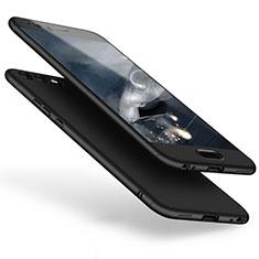 Coque Plastique Mat Protection Integrale 360 Degres Avant et Arriere Etui Housse pour Huawei P10 Plus Noir
