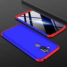 Coque Plastique Mat Protection Integrale 360 Degres Avant et Arriere Etui Housse pour Nokia 7.1 Plus Mixte